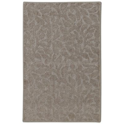 Mohawk Home SmartStrand Botanical 1-Foot 6-Inch x 2-Foot 10-Inch Rug in Khaki