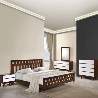 Zuo® Los Angeles Queen Bedroom Set
