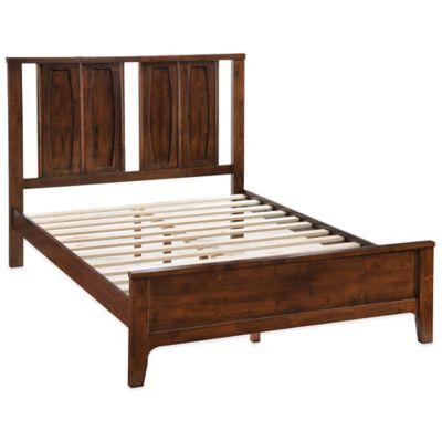 Zuo® Portland Queen Bedroom Set in Walnut