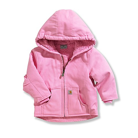 Carhartt Lined Redwood Sherpa Jacket in Pink BABY