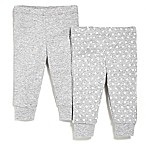 SKIP*HOP® Newborn Baby Pant 2-Pack in Grey