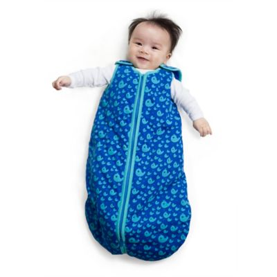 Baby Deedee® Sleep Nest® Tee Medium Sleeping Bag in Happy Whales