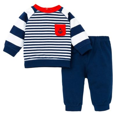 Little Me® Size 9M 2-Piece Mariner Pant and Shirt Set
