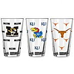 Collegiate Color Changing 16-Ounce Pint Glasses (Set of 2)