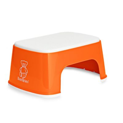 BABYBJORN® Children's Step Stool in Orange