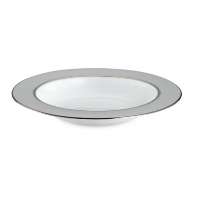 kate spade new york June Lane™ Platinum 9-Inch Pasta/Rim Soup Bowl