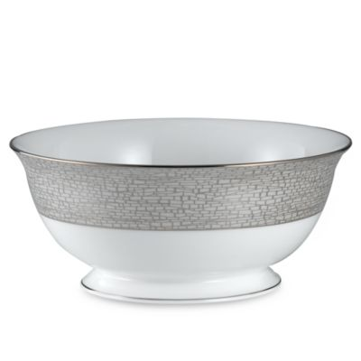 kate spade new york June Lane™ Platinum 8 1/2-Inch Serving Bowl
