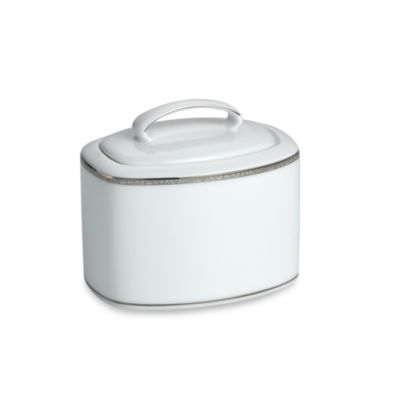 kate spade new york June Lane™ Platinum Covered Sugar Dish