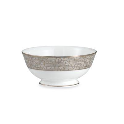 kate spade new york June Lane™ Platinum 4 3/4-Inch Fruit Bowl