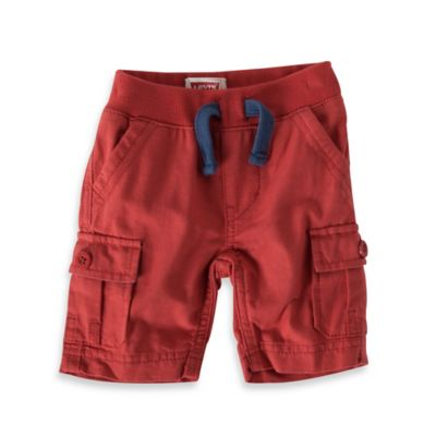 Levi's® Size 18M Hermosa Cargo Short in Orange