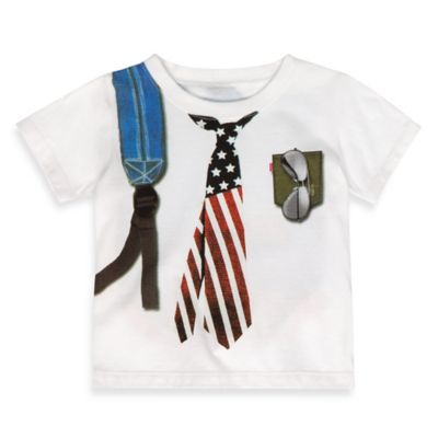 Levi's® Size 2T Graphic T-Shirt in White