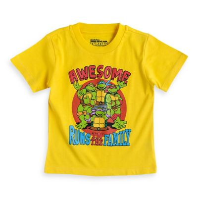FREEZE Nickelodeon™ Size 24M Teenage Mutant Ninja Turtles Short Sleeve T-Shirt in Yellow