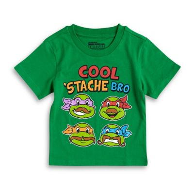 "FREEZE Nickelodeon™ Teenage Mutant Ninja Turtles Size 12M ""Cool 'Stache Bro"" T-Shirt in Green"