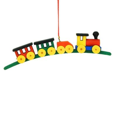 Christian Ulbricht Medium Train Christmas Ornament