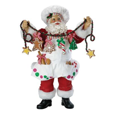 Kurt Adler Chef Santa Christmas Ornament