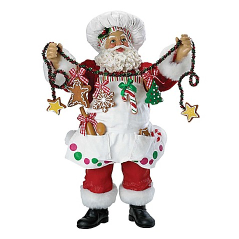 Kurt Adler Chef Santa Christmas Ornament Www
