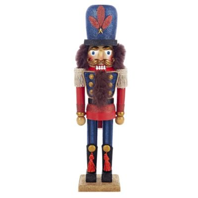 Red Blue King Nutcracker