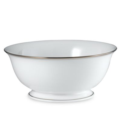 kate spade new york Library Lane Platinum™ 8.5-Inch Serving Bowl