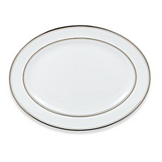 kate spade new york Library Lane Platinum™ 13-Inch Oval Platter