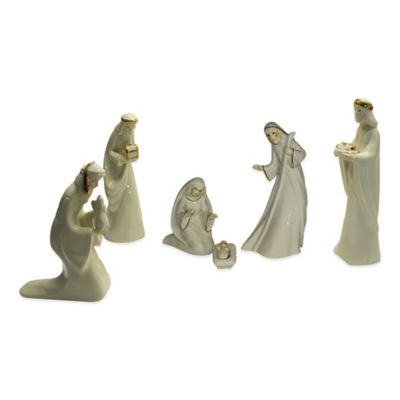 Kurt Adler 7-Piece Porcelain Nativity Set
