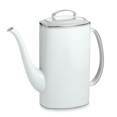 White Coffee Pot