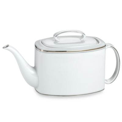 kate spade new york Library Lane Platinum 40 oz. Teapot