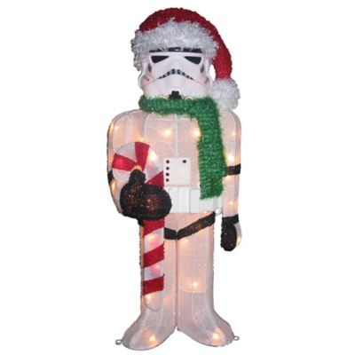 Kurt Adler Star Wars® 3-Foot Pre-Lit 3D Stormtrooper Lawn Decoration