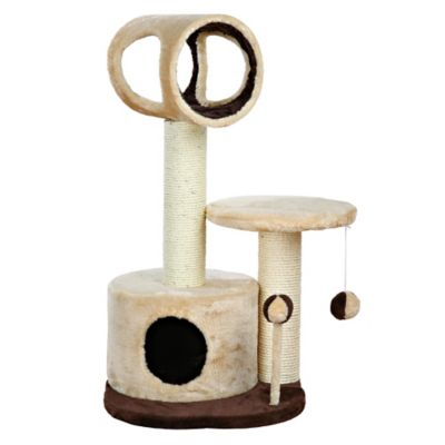 Beige Brown Cat Tree