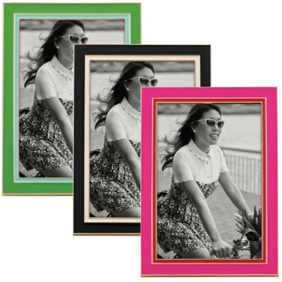 Green Pink Picture Frames