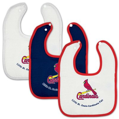 MLB St. Louis Cardinals 3-Pack Baby Bibs