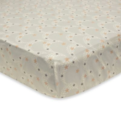 Petit Tresor Nuit Fitted Crib Sheet