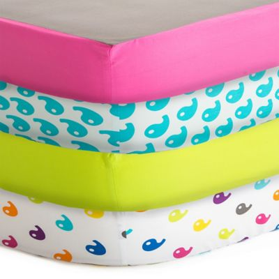 Baby Deedee® Fitted Crib Sheet in Rainbow