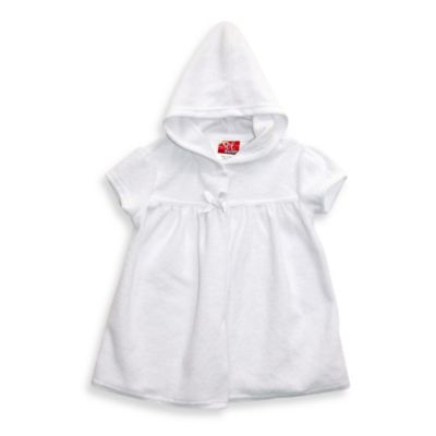 sol swim® Size 2T Hooded Terry Cover-Up in White
