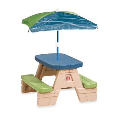 Step2® Sit & Play Picnic Table with Umbrella