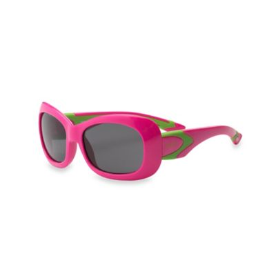 Real Kids Shades Breeze Sunglasses in Cherry/Lime