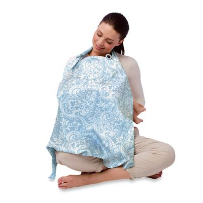 Boppy® Nursing Cover in French Swirl Blue