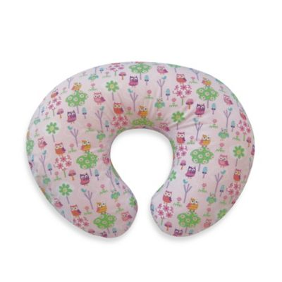 Boppy® Classic Slipcover in Owls and Flowers