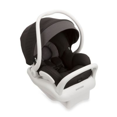 Maxi-Cosi® Mico Max 30 White Collection Infant Car Seat in Devoted Black