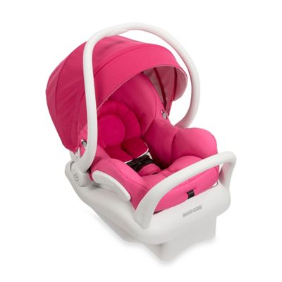 Maxi-Cosi® Mico Max 30 White Collection Infant Car Seat in Pink Berry