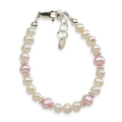 Cherished Moments Medium Addie Pearl Bracelet