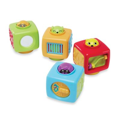 International Playthings earlyears™ Click n Spin Activity Blocks