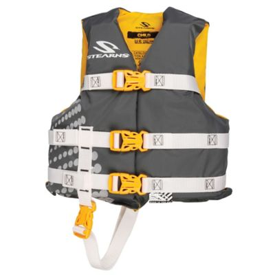 Stearns® Child's Nylon Life Jacket in Yellow/Grey
