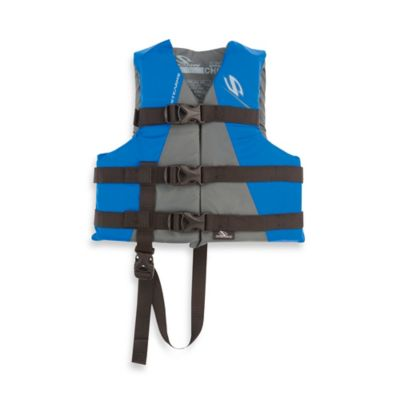 Coleman® Stearns® Child's Watersport Classic Nylon Life Vest in Blue/Grey