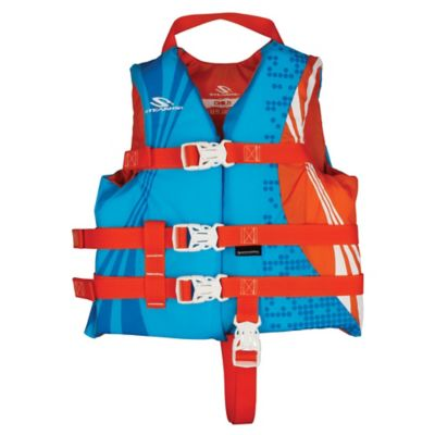 Coleman® Stearns® Child's Nylon Life Jacket in Blue/Orange