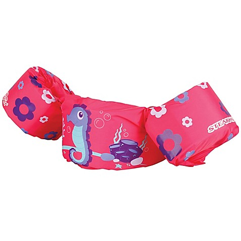 Stearns 174 Seahorse Puddle Jumper 174 In Pink