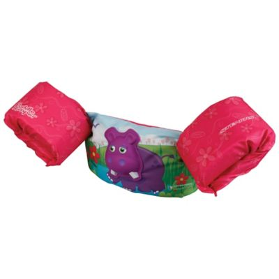 Stearns® Bahamas Series 3D Hippo Puddle Jumper in Pink