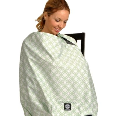 Balboa Baby® Nursing Cover in Sage Circle