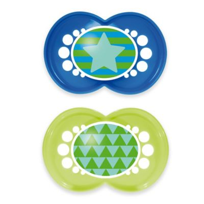 MAM Trends 6M+ 2-Pack Pacifiers in Blue