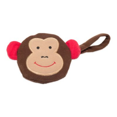 J.L. Childress Monkey Pacifier Pal Pacifier Pocket