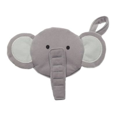 J.L. Childress Elephant Pacifier Pal Pacifier Pocket